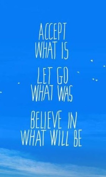 Believe2C - Accept What IS - Let Go What Was  Believe 2C B2C template